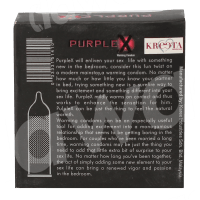 Climax Purple X - 3Pcs - Warming Gel Condoms