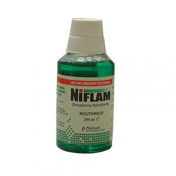 Niflam Mouth Wash 200ml