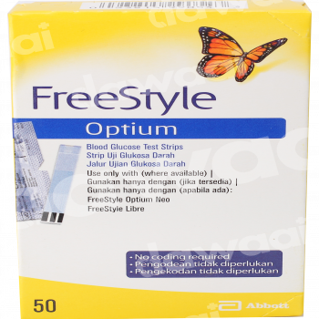 Freestyle Glucometer Strips