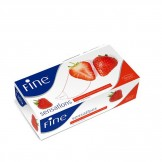 Fine Facial Tissues Fine Sensation  100 x 2 PLY Strawberry