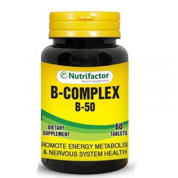Nutrifactor B Complex With B-50