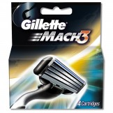 Gillette Mach 3 Cartridges 4s