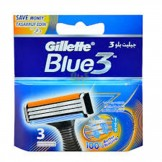 Gillette Blue 3 System Cartridges 6's