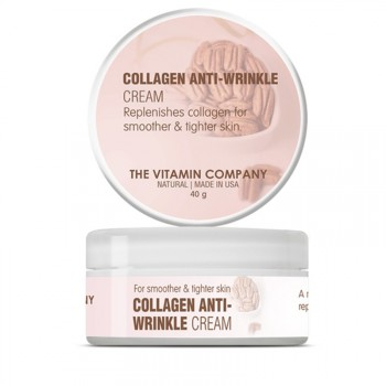 The Vitamin Company Collagen Anti Wrinkle Cream