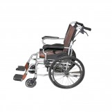 Dawaai Wheelchair with Aluminium body and full Folding
