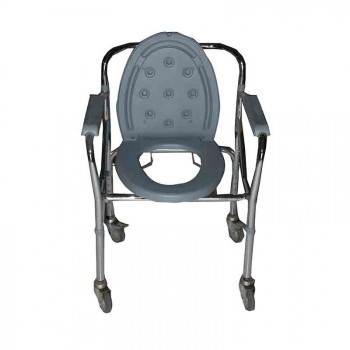 Dawaai Commode Chair with Wheel