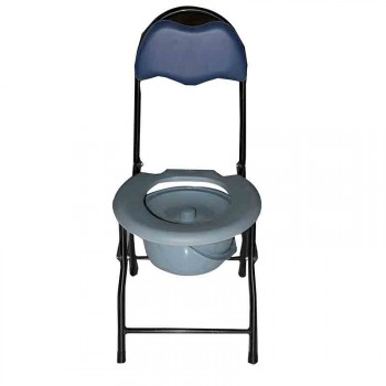 Dawaai Commode Chair with Iron Body