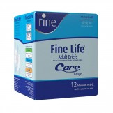 Fine Adult Diaper Fine Life Medium 12's