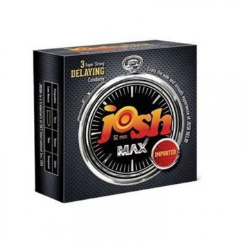 Josh Max Delay Condoms Pack Of Two (Imported)