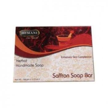 Hemani Saffron Soap Bar 100 Gm