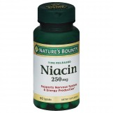 Nature's Bounty Niacin 250 mg