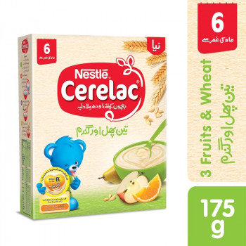 Nestle Cerelac 3 Fruits 175gm