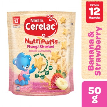Nestle Cerelac Banana Strawberry 50mg