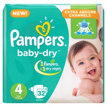 Pampers Jumbo Pack Large Butterfly (9-18kgs)