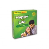 Happy Life Dotted Two Colored Condoms 2's