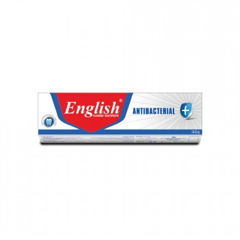 English Antibacterial Toothpaste Saver Pack