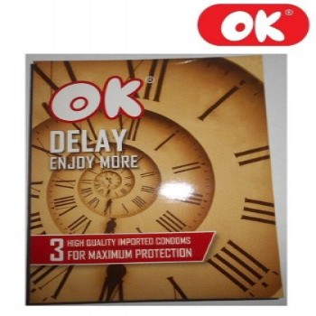 Ok Delay Condoms Pack of 3