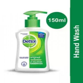 Dettol Liquid Hand Wash 150ml - Original