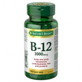 Nature's Bounty Vitamin B-12 1000mcg 100's