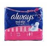 Always Maxi Thick Long 9 Pads