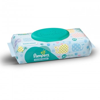 Pampers Baby Wipes 64 Counts