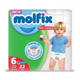 Molfix pant e.large - twin pack 22's