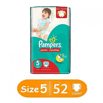 Pampers Pants Culottes Size 5 (12-18kg) 52 Counts