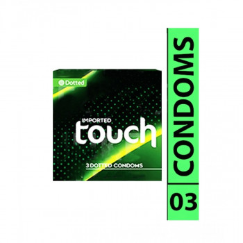Touch Dotted Condoms 3s