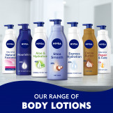 NIVEA Body Lotion Natural Fairness, Body Care Liquorice & Berry Extracts, Dry Skin, 400ml