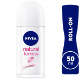 NVEA Natural Fairness Anti-Perspirant Deodorant for Women, Roll-On 50ml