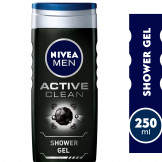 NIVEA MEN Active Clean, Deep Cleansing Active Charcoal