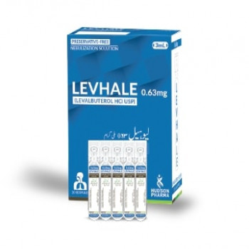 Levhale Respules (0.63mg/3mL) 20's