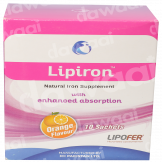 Lipiron Natural Iron Supplement