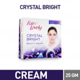 Fair & lovely crystal bright beauty cream 25 gm