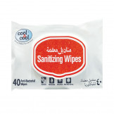 Cool & Cool Sanitizing Wipes