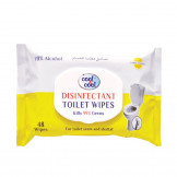 Cool & Cool Disinfectant Toilet Wipes