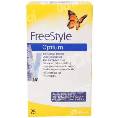 Freestyle Optium Strips