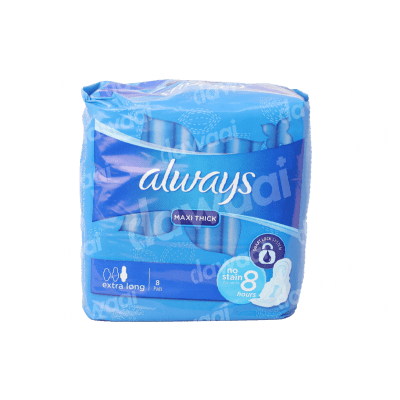 Always Maxi Thick Extra Long 8 Pads