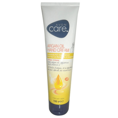AVON Care Argan Oil Hand Cream For Dry Skin - 100ml