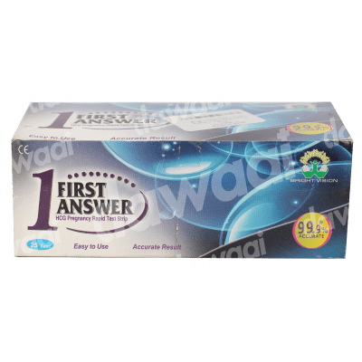 First Answer Pregnancy Test