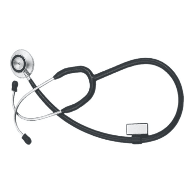 Certeza Adult Size Inner-spring Deluxe Dual Head Stethoscope - CR-747ss