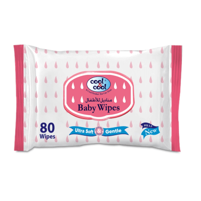 Cool & Cool Baby Wipes