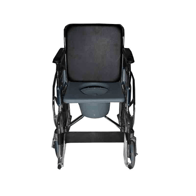 Dawaai Wheelchair with Commode Double Seat