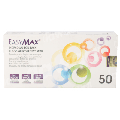 Easymax Glucometer Strips