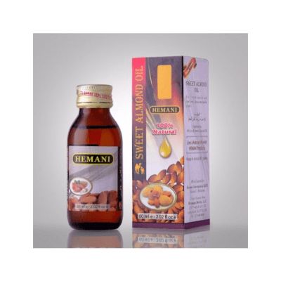 Hemani Sweet Almond Edible Oil 60Ml