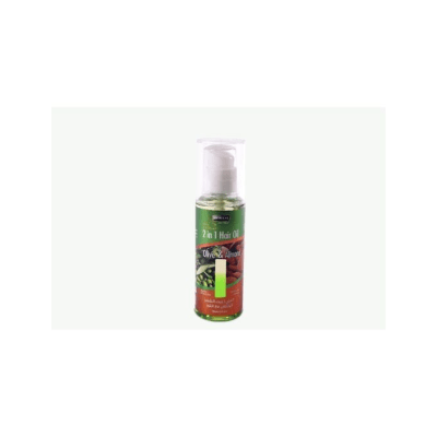 Hemani 2 In 1 Hair Oil Olive And Almond 120ml