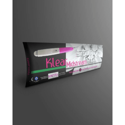 Klear Midstream Self Pregnancy Testing