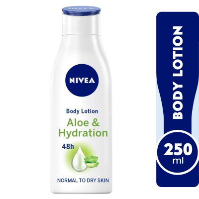 NIVEA  Aloe & Hydration, Body Care Aloe Vera, Normal to Dry Skin