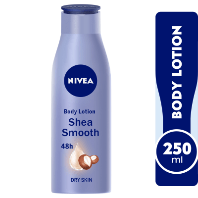 NIVEA Shea Smooth, Body Care Shea Butter, Dry Skin, 250ml