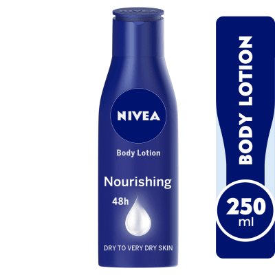 NIVEA Cocoa Butter, Body Care Deep Moisture Serum, Dry Skin